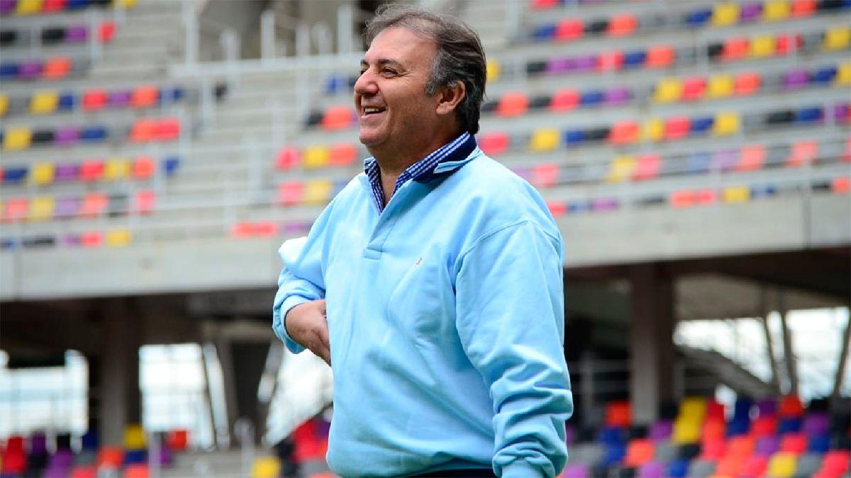 Alicio Dagatti apuesta en lo infraestructural y en lo deportivo para el 2022.