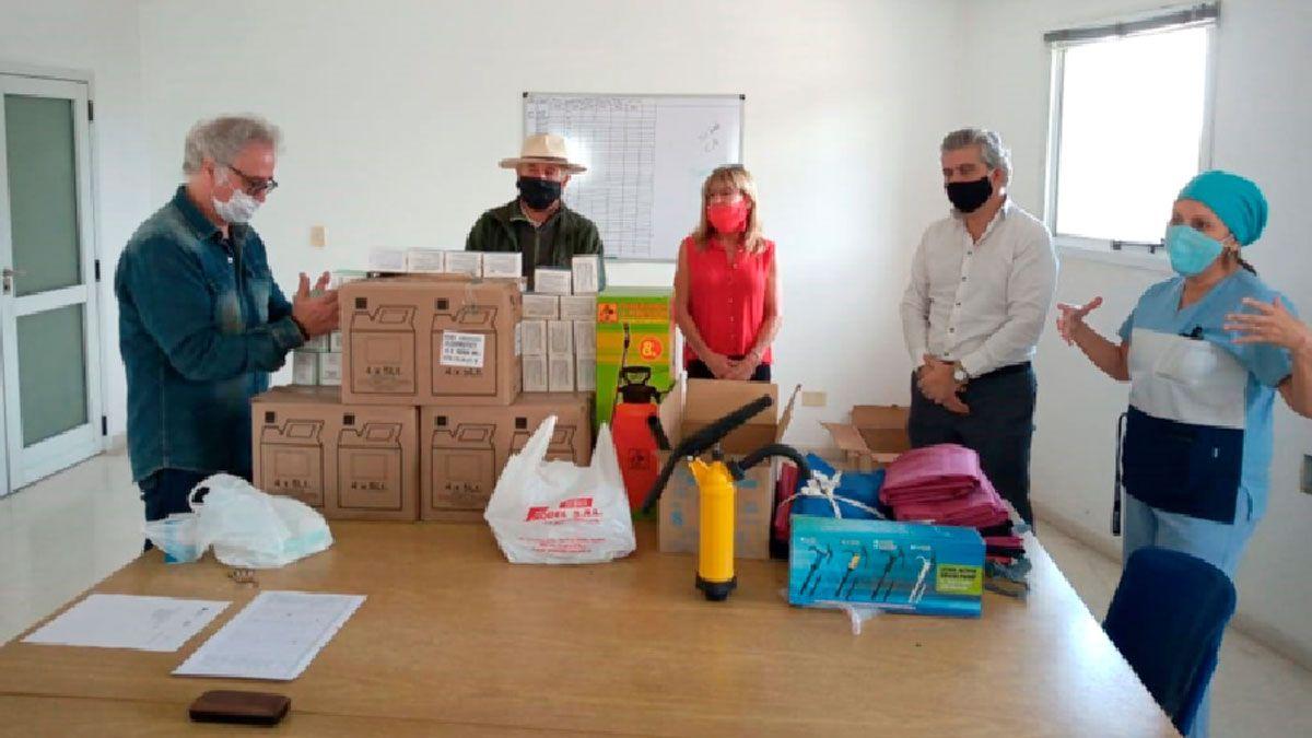 La entrega de materiales al Nuevo Hospital se realiza de manera periódica
