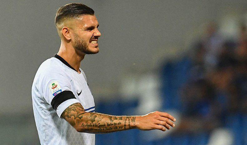 El Inter desperdició dos goles de ventaja