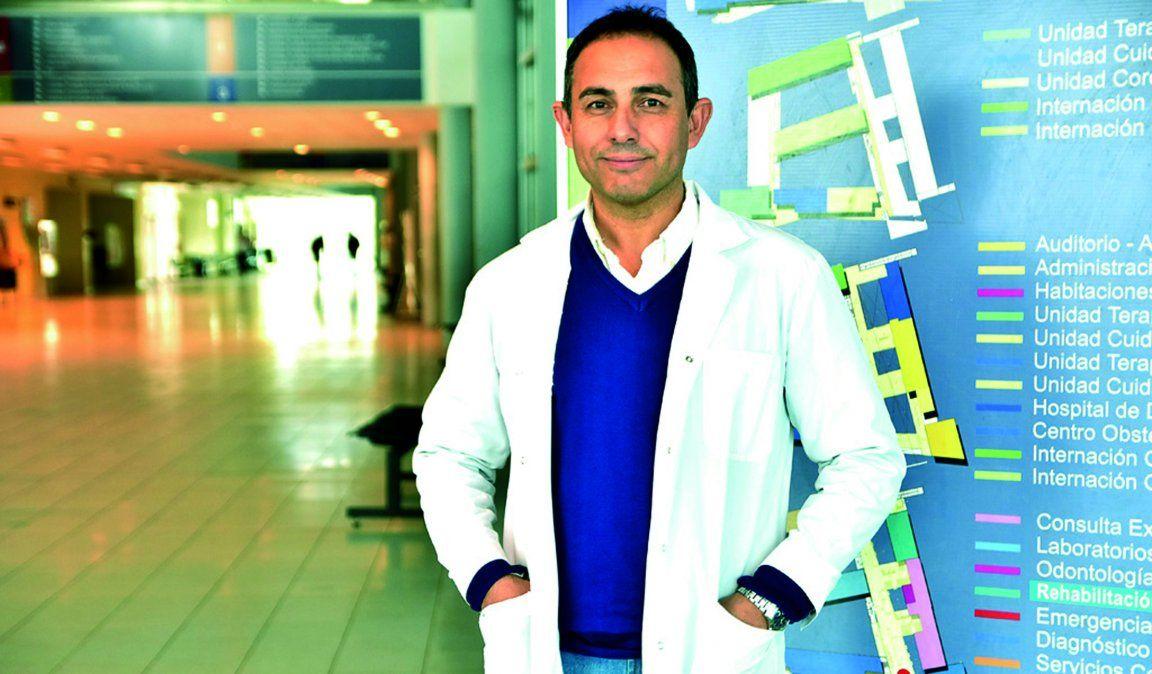 Dio positivo de Covid el director del Hospital Pasteur