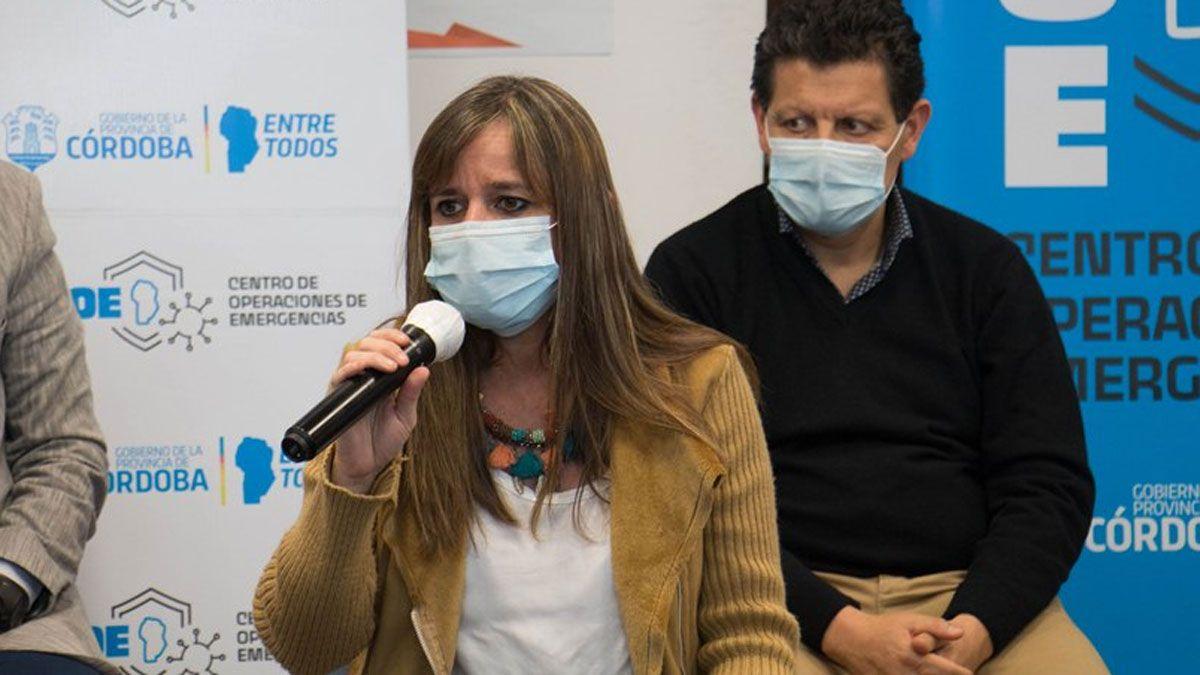 La secretaria de Prevención y Promoción de la Salud de Córdoba