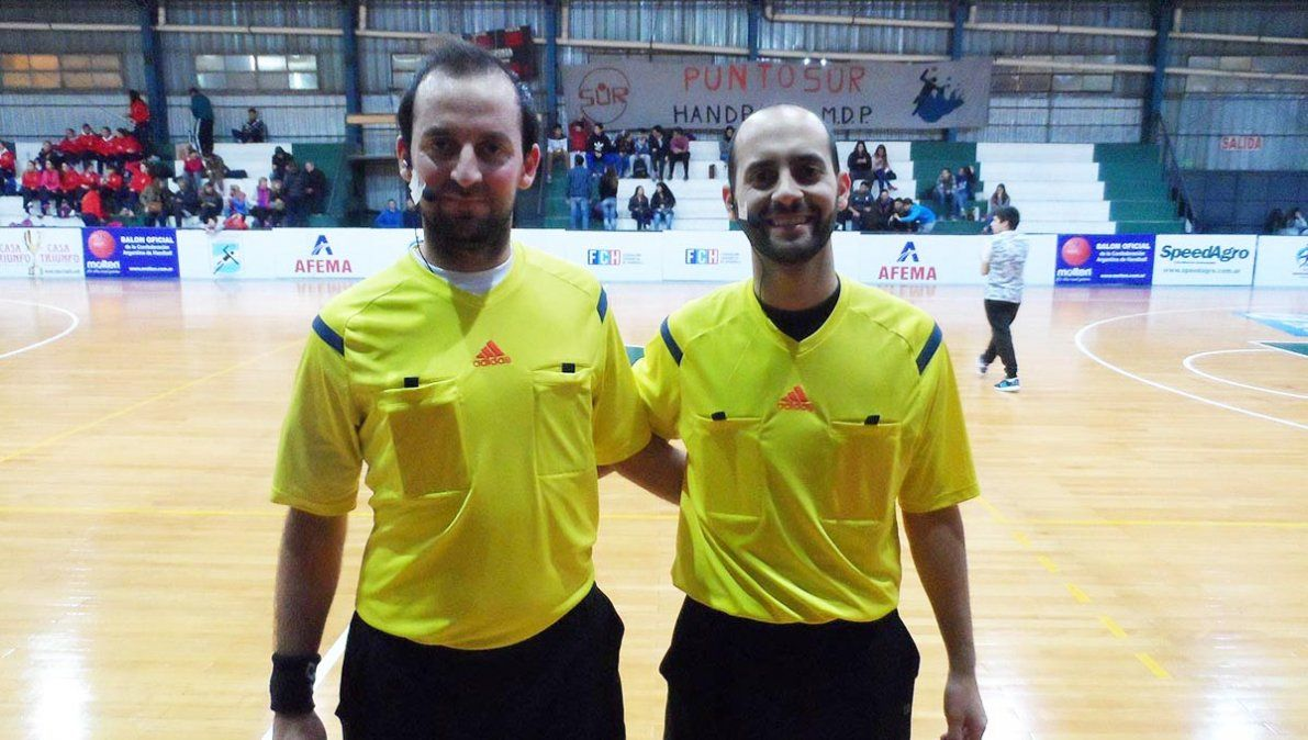 Luciano Zabala y Alexis Salera