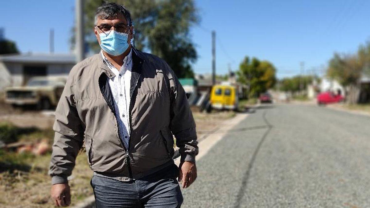 El cuadro del intendente Flavio Juárez empeoró el pasado sábado y fue intubado.