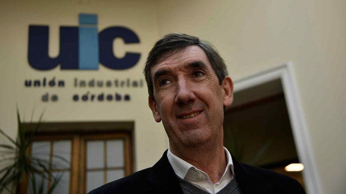 Marcelo Uribarren preside la Unión Industrial de Córdoba. El villamariense explicó lo que deja la pandemia en determinados sectores.