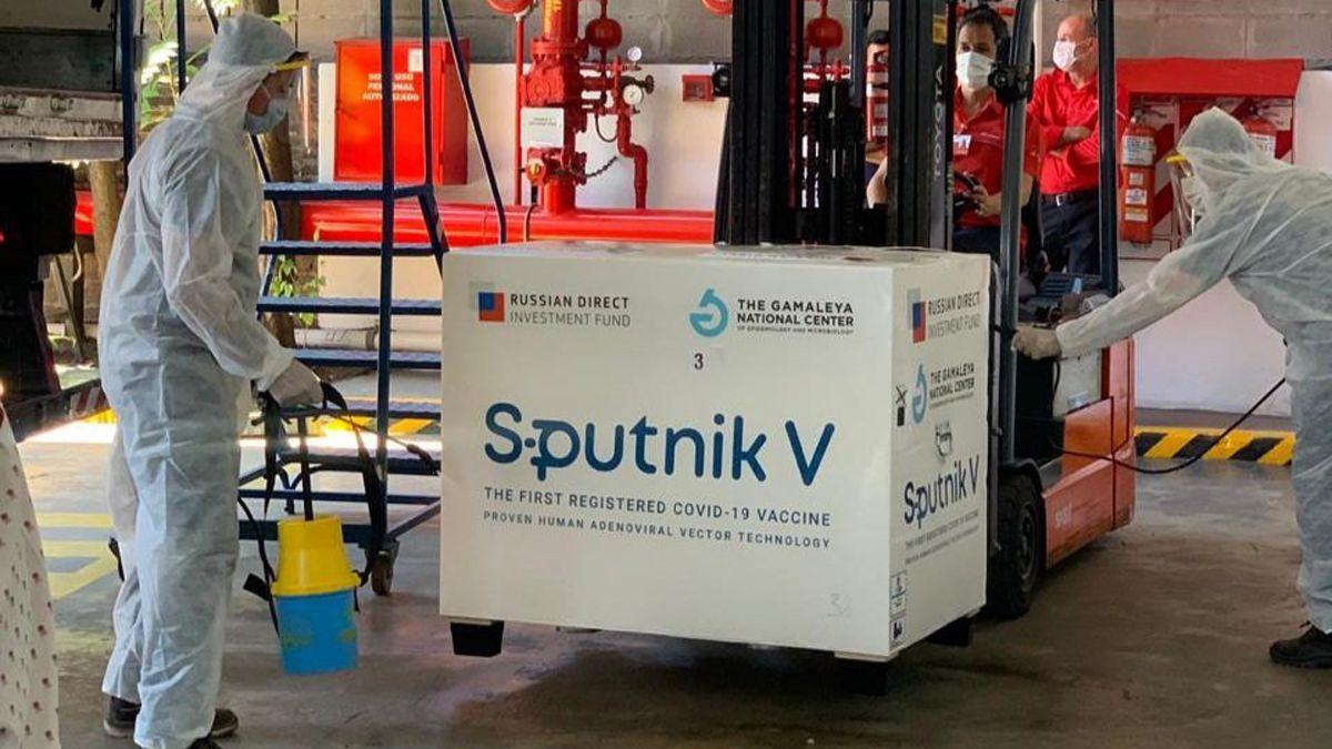 En Rusia admiten que hay demoras en la entrega de Sputnik V.