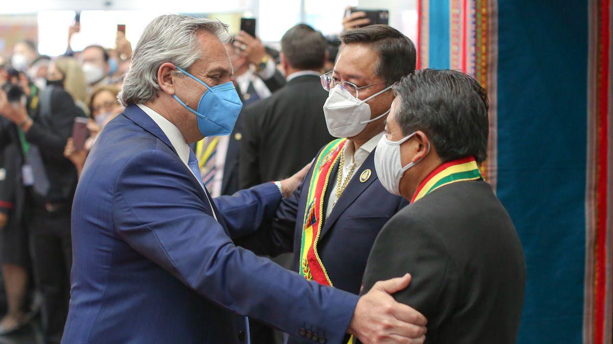 Alberto Fernández envió un mensaje a las autoridades de Bolivia.