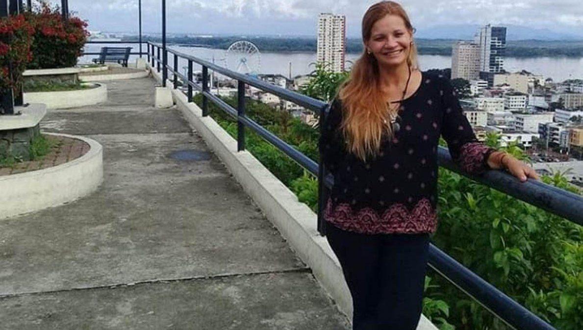 Tres detenidos por el crimen de una cordobesa en Ecuador