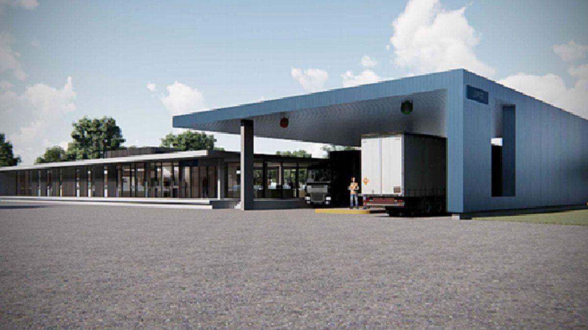 Las imágenes de lo que será el nuevo edificio planificado para ser sede de todas las instalaciones de la Aduana General Deheza.
