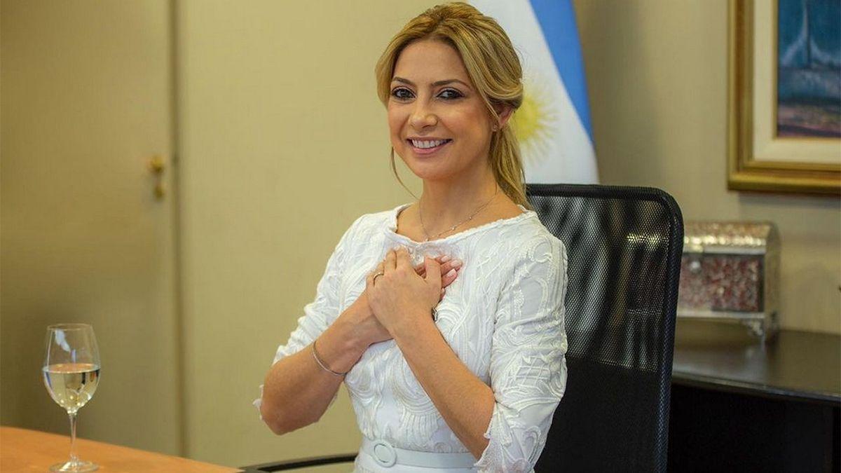 Fabiola Yañez confirmó que está embarazada de diez semanas.