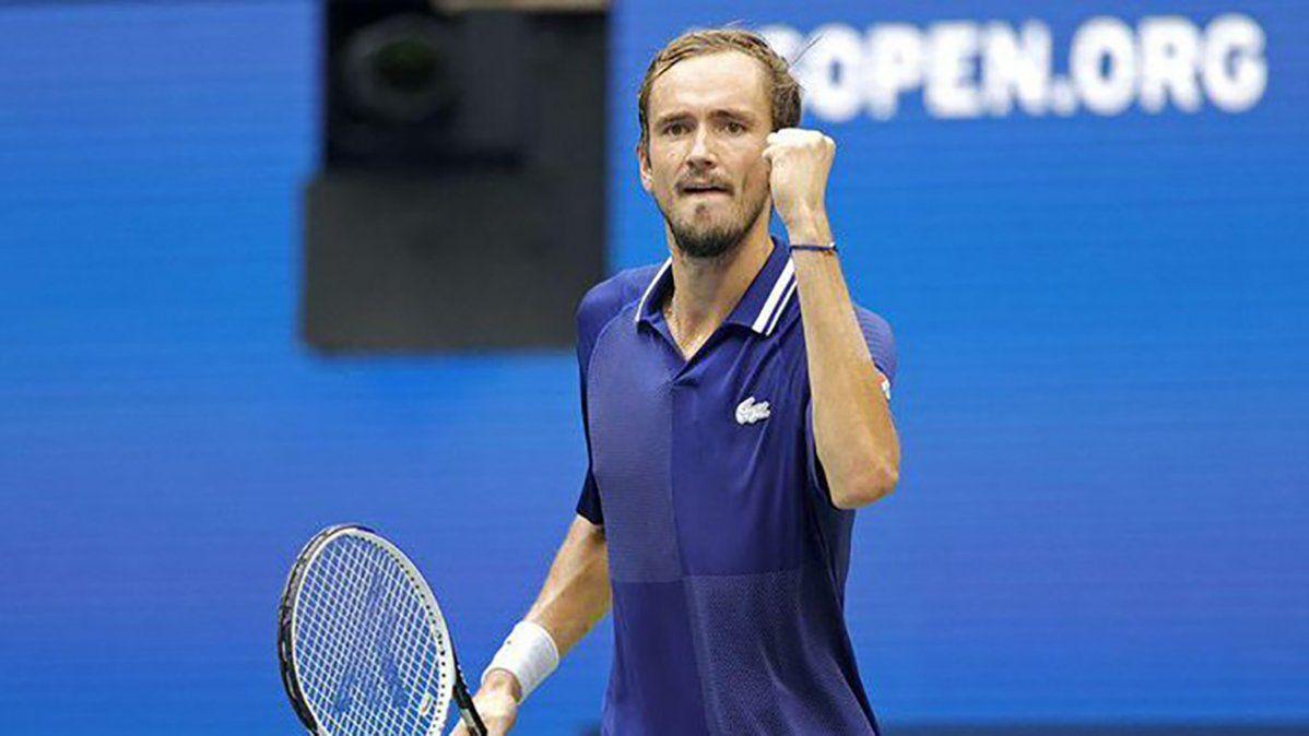 Medvedev ganó el US Open y dejó a Djokovic sin Golden Slam