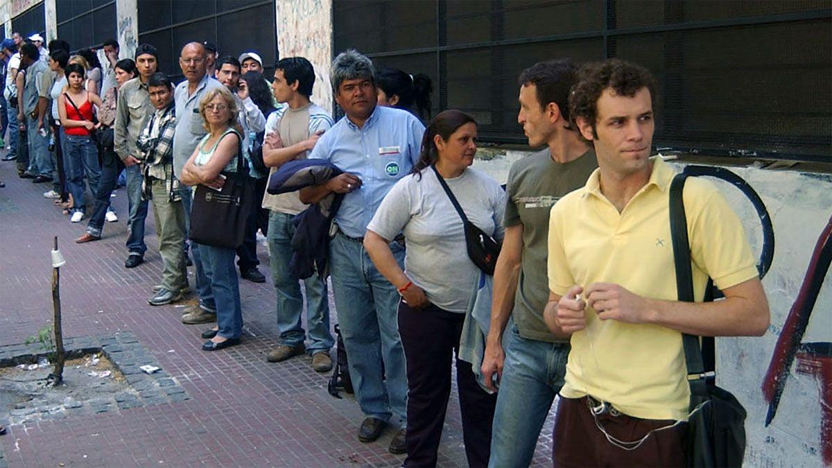 Sube la desocupación en el primer trimestre: 10,4%