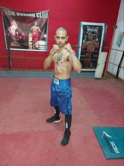 Báez se presentará en Salta el 16 de julio. Sueña con volver a pelear en Villa María.