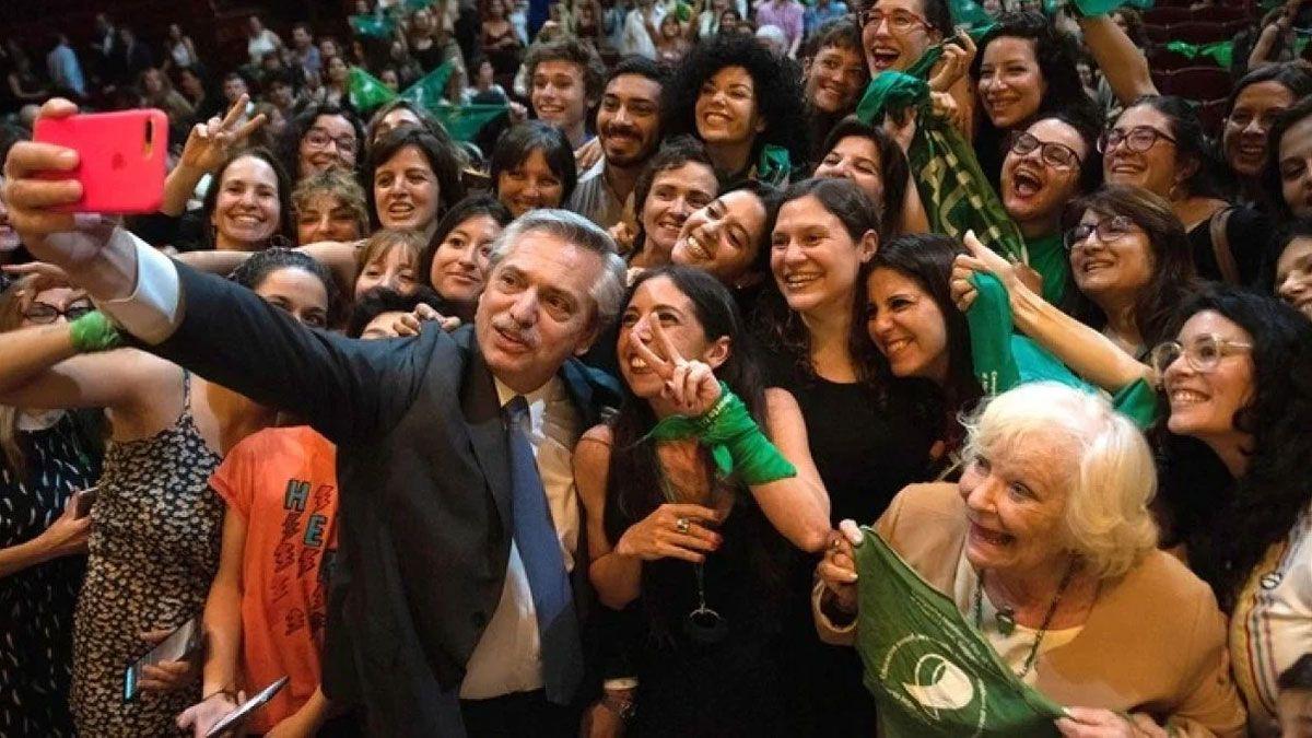El Presidente expresó su confianza en que esta vez será ley la legalización del aborto