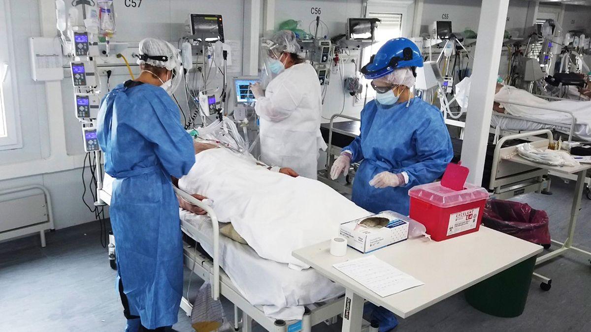 La provincia de Córdoba informó que la ocupación de camas en las Unidades de Terapia Intensiva (UTI) es del 10