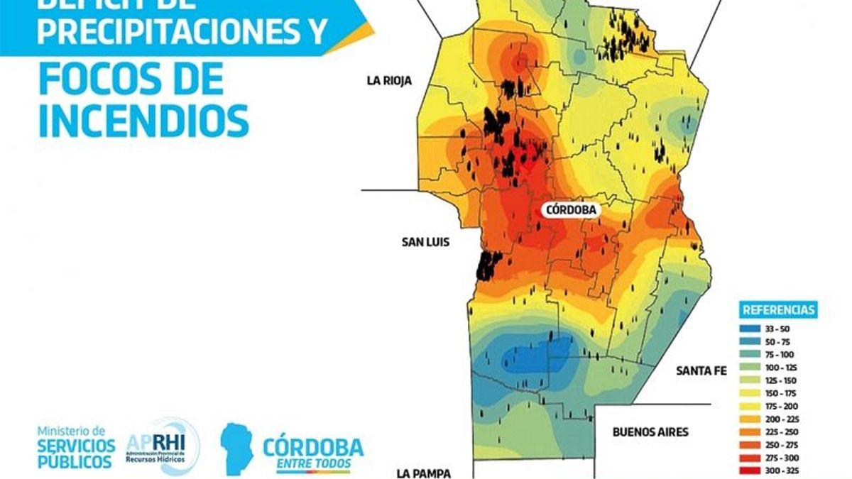 Córdoba atraviesa la mayor sequía de los últimos 65 años