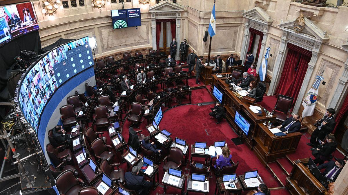 El oficialismo no tuvo problemas para transformar en ley el proyecto que llegó con media sanción de Diputados.