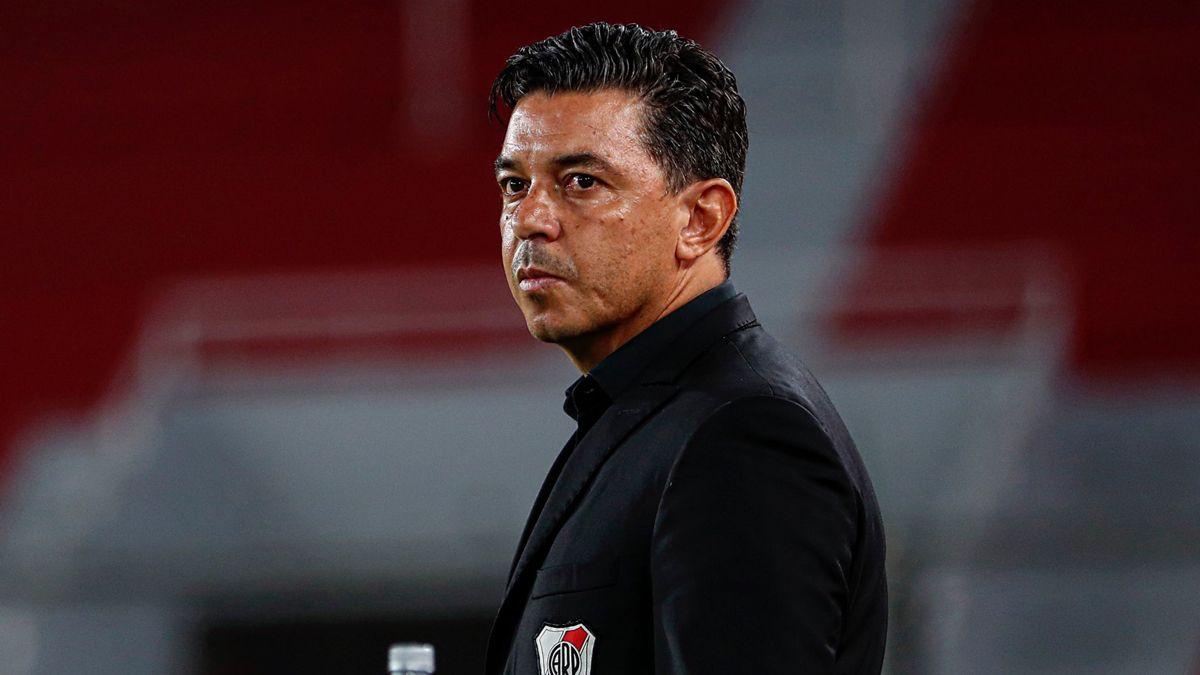El entrenador de River