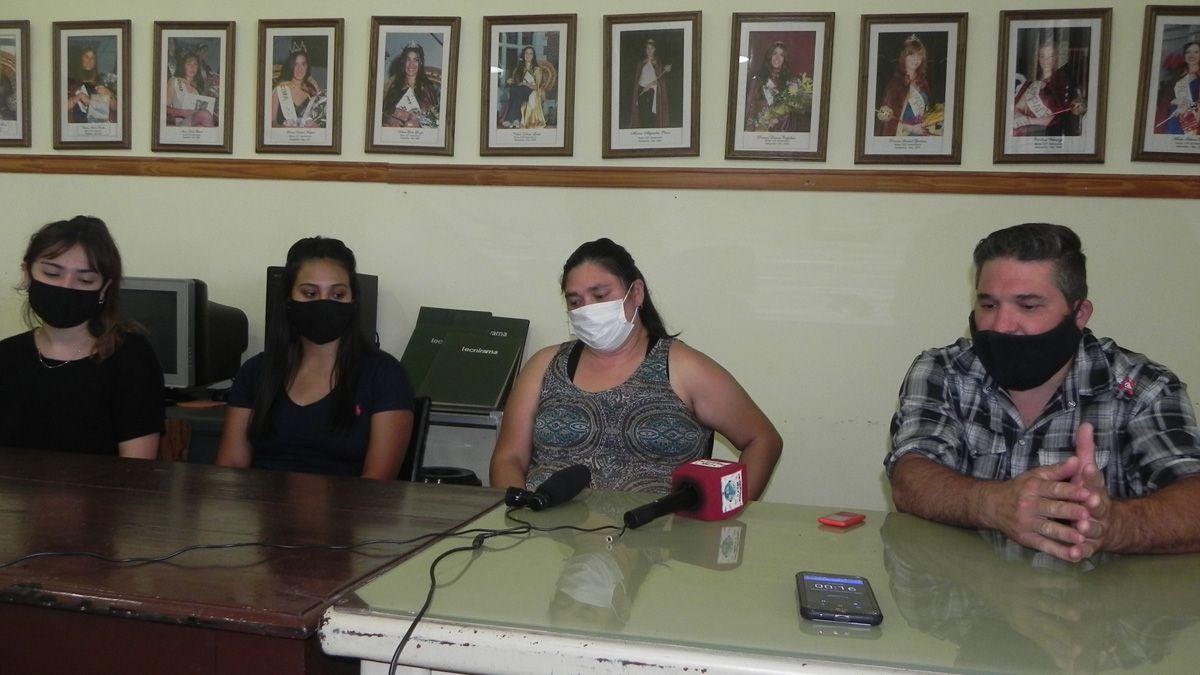 Autoridades de la Dirección de Ambiente Municipal brindaron detalles del proyecto de reciclado.