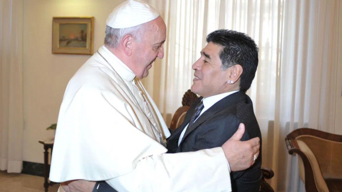Francisco recordó con afecto sus encuentros con Maradona