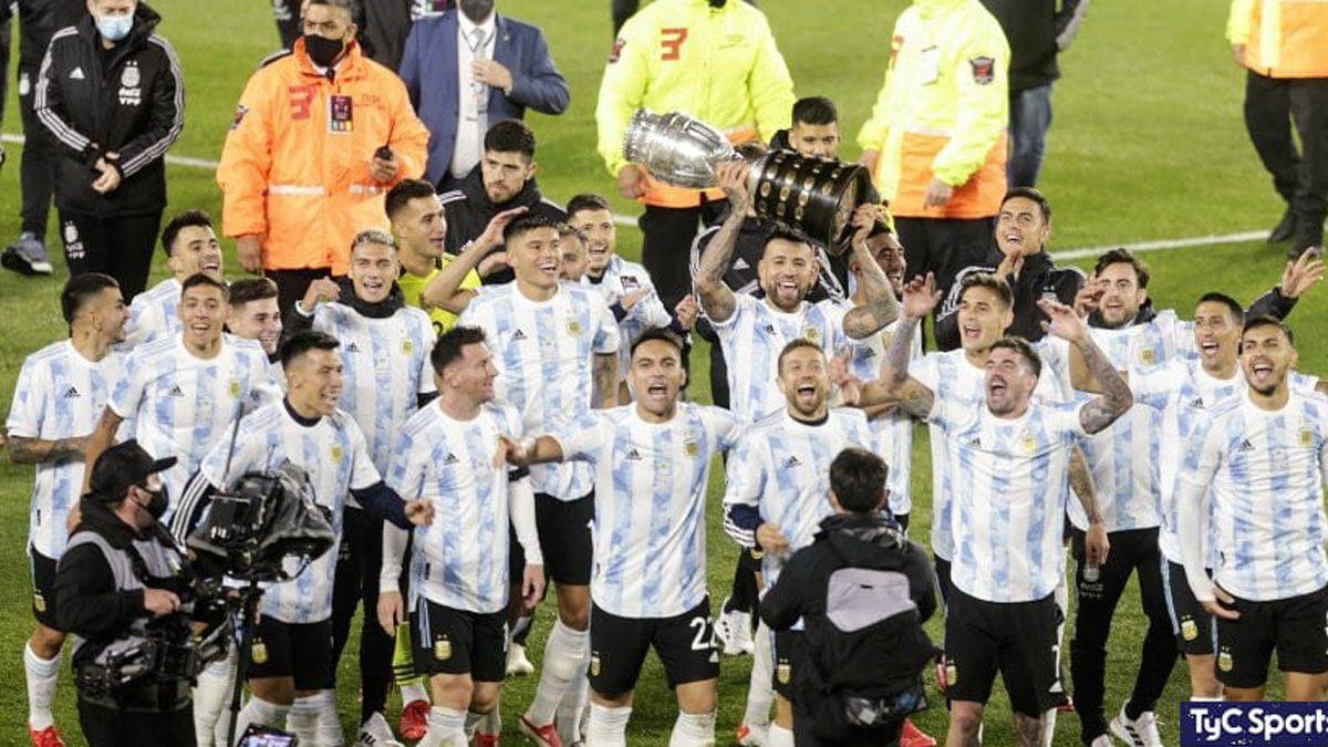 Argentina tuvo su merecido festejo