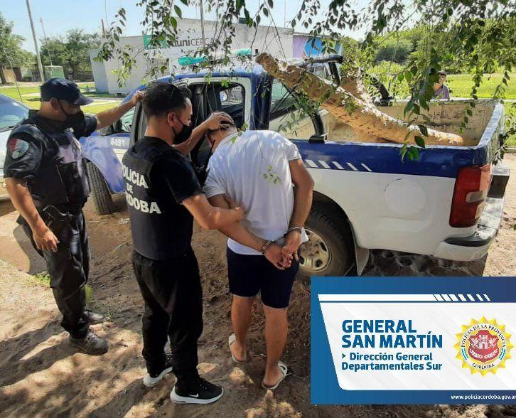 Detuvieron a un joven por un robo realizado en la vía pública el 20 de este mes