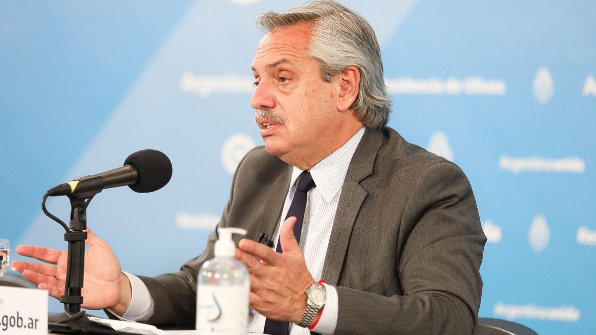 Alberto Fernández sostuvo que el FMI es corresponsable de la crisis que se produjo en Argentina durante la gestión de Cambiemos.