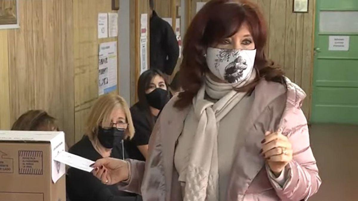 Cristina Fernández de Kirchner votó en Río Gallegos