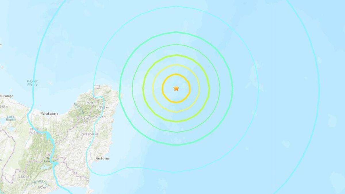 El sismo tuvo epicentro en las islas de Kermadec en Nueva Zelanda.