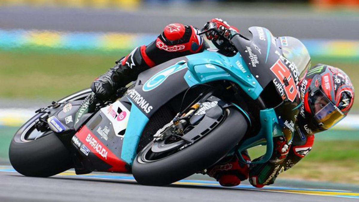 Quartararo hizo la pole en el Moto GP