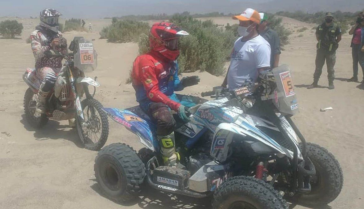Gran actuación de los participantes regionales en el South American Rally Raid