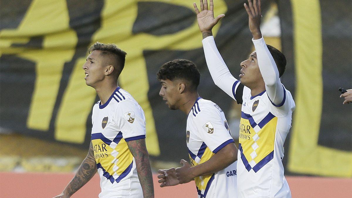 Boca ganó en la altura de La Paz