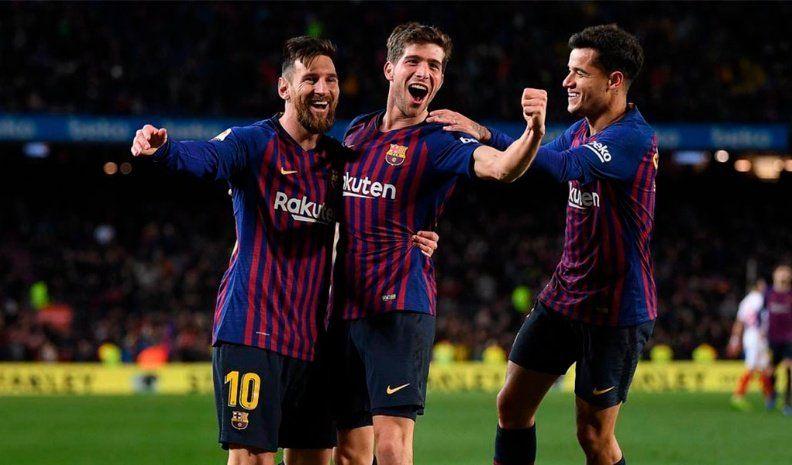 Barcelona remontó la serie y está en semifinales