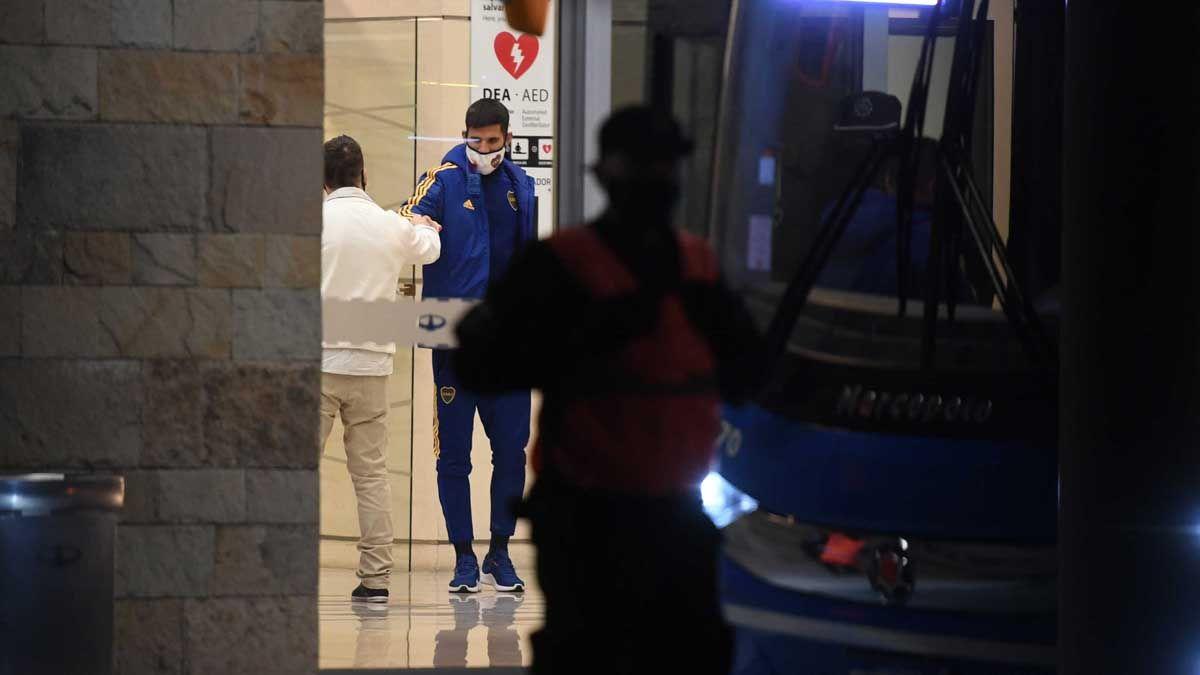 Boca llegó después de la escandalosa estadía en Belo Horizonte.