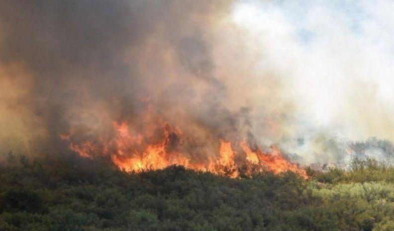 Continúa fuera de control el incendio en las cercanías de Lago Puelo, en Chubut