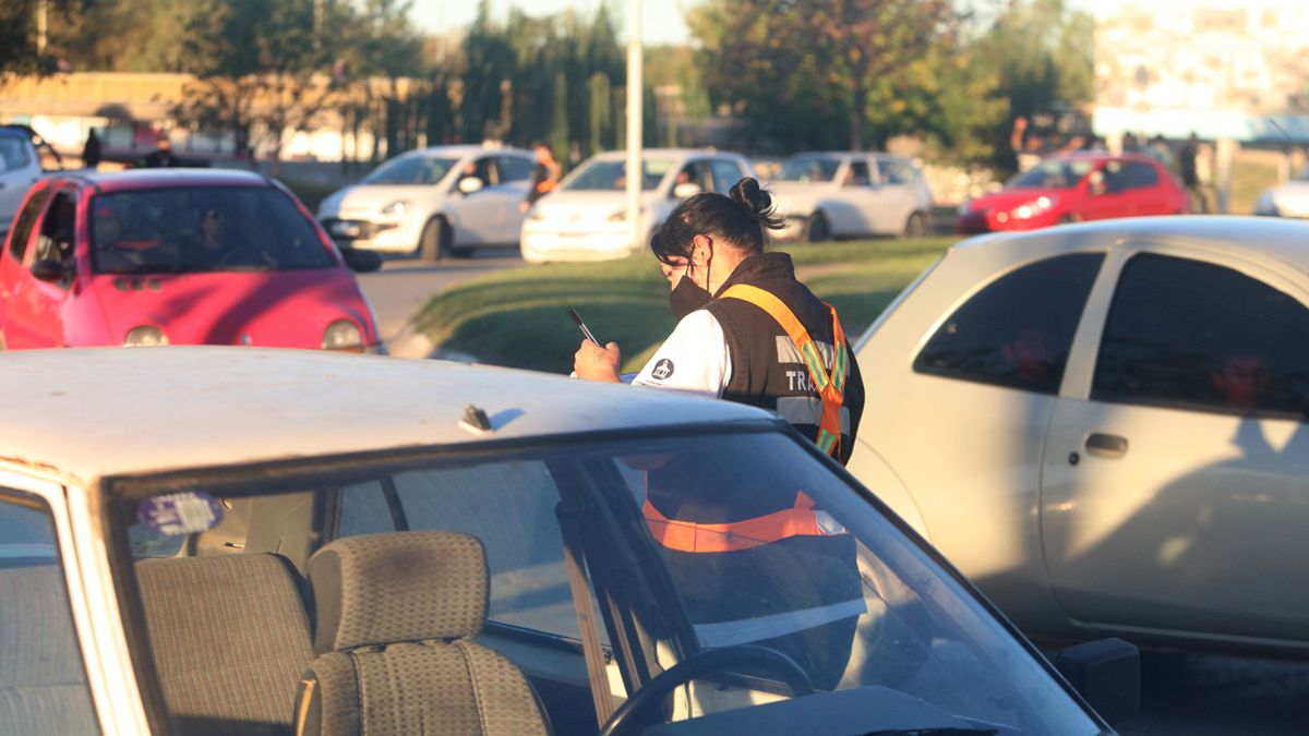 Agentes de tránsito del Ente de Prevención también participaron del operativo.