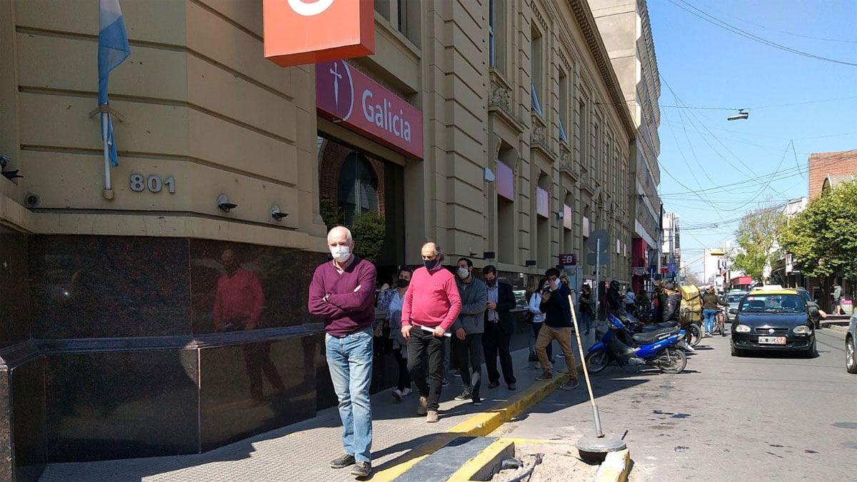 Gran actividad en el centro de la ciudad