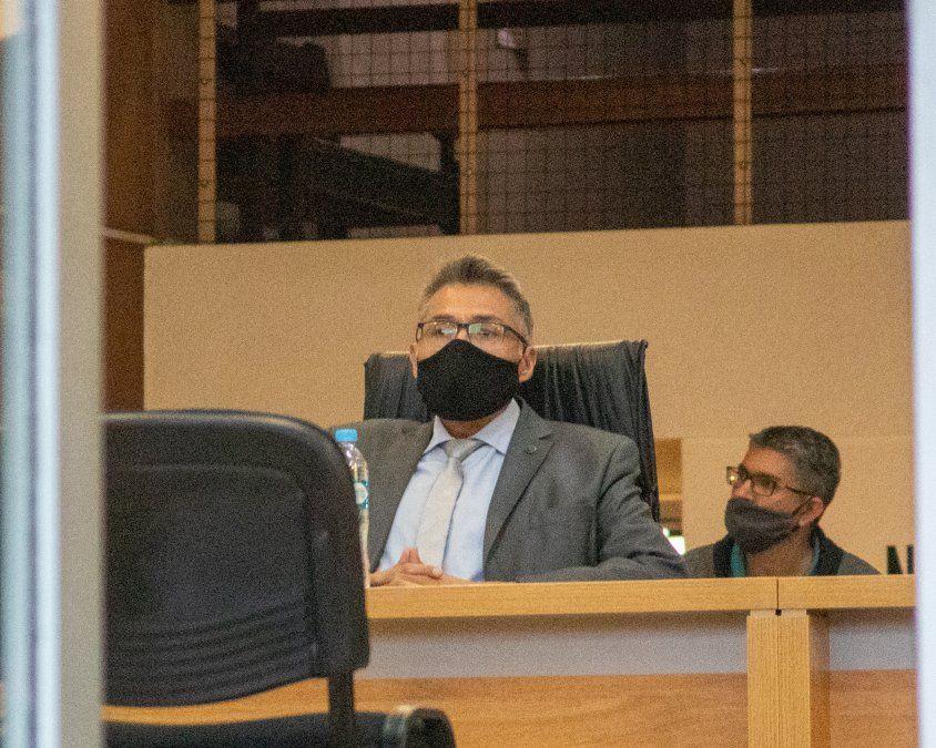 El juez Félix Martínez presidió la audiencia.