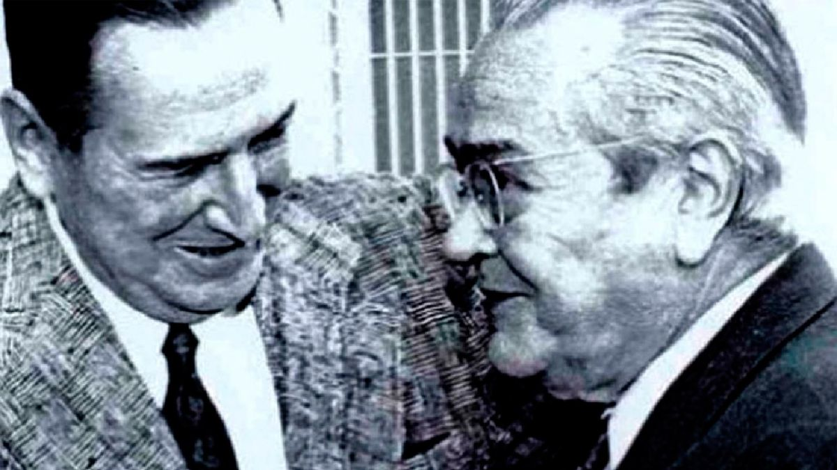 Perón y Balbín dejaron atrás duros enfrentamientos para abrir la puerta a una nueva etapa institucional en el país.