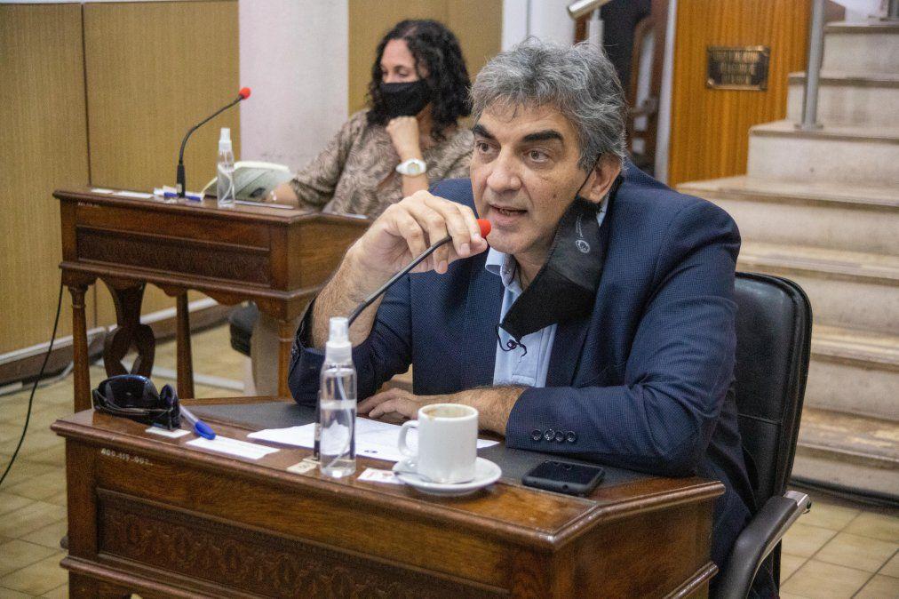 Internación del concejal Romeo Benzo: sostienen que su evolución es alentadora
