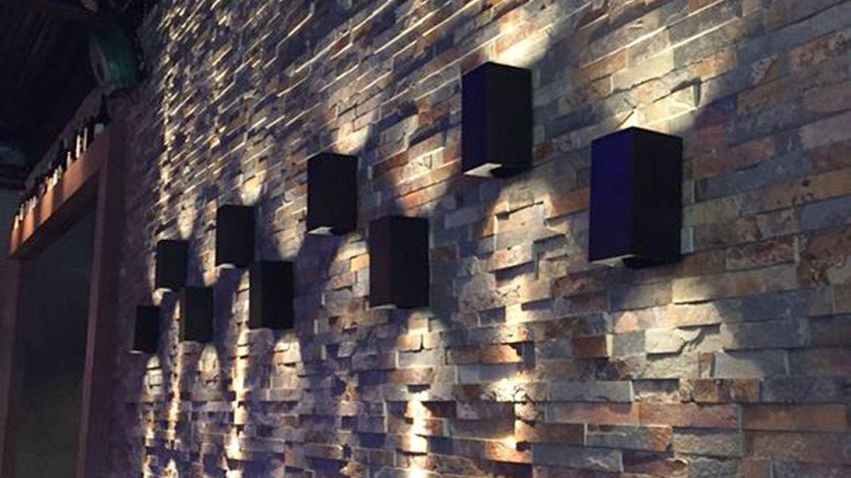 Hay varias alternativas en artefactos que permiten lograr efectos sobre los espacios exteriores.