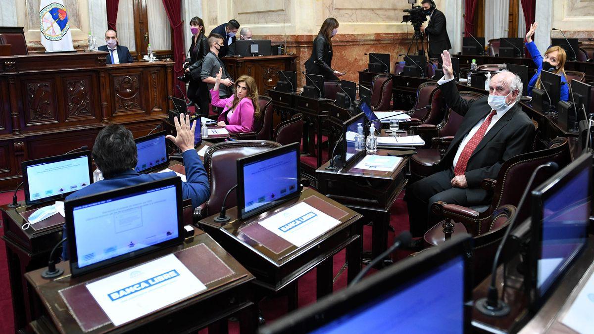 El Senado convirtió en ley el proyecto para la compra de vacunas.