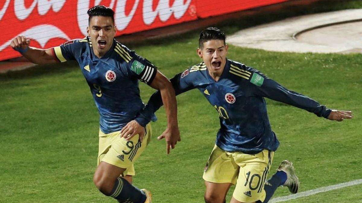 Falcao amargó a Chile en el final