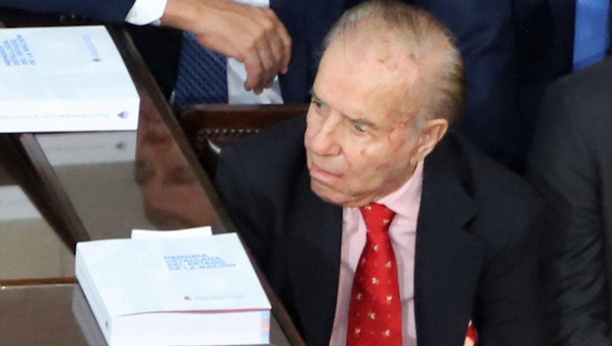 Menem murió ayer a los 90 años.