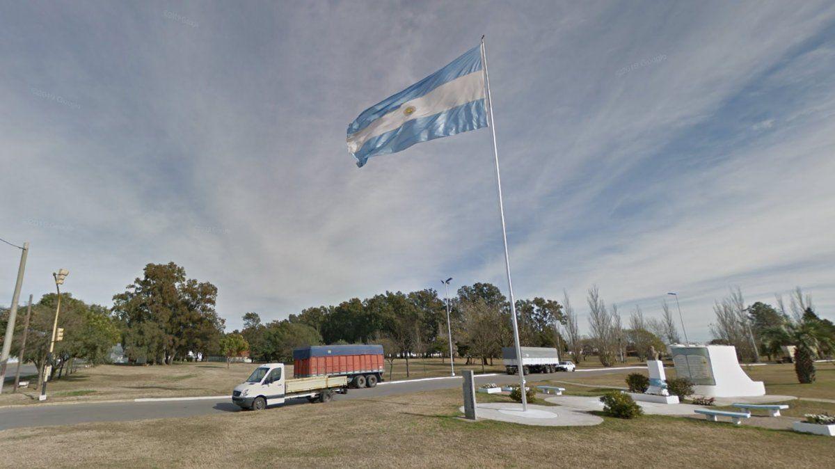 Villa María: acto por el Día de la Bandera