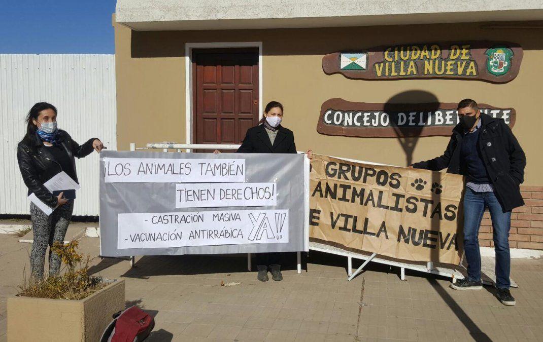 Vecinos se llegaron al Concejo Deliberante de Villa Nueva para acercar una propuesta.