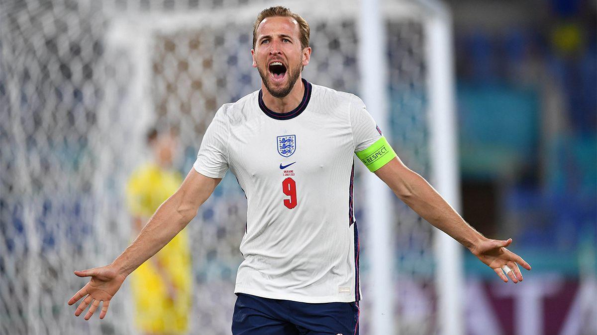 Inglaterra goleó a Ucrania y es semifinalista