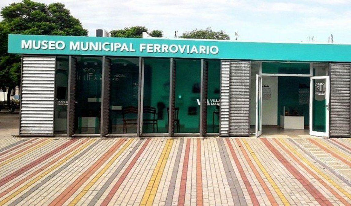Museo Municipal Ferroviario.