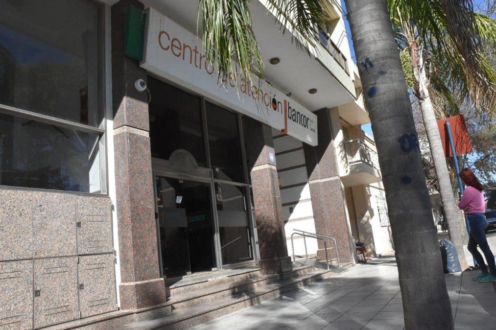 El paro fue acatado en su totalidad por los trabajadores del banco provincial.