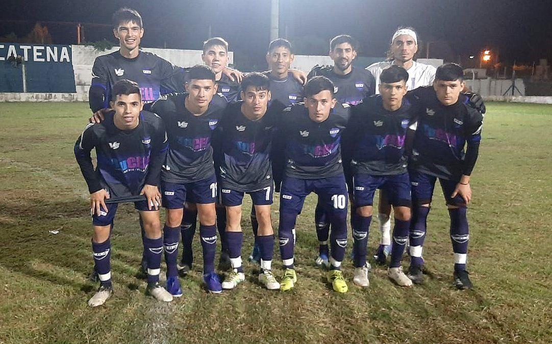 El equipo de Argentino que superó 2-0 a Unión de Arroyo Algodón. Sumó dos triunfos en fila