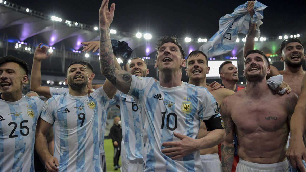 Argentina llega al país tras consagrarse campeón.